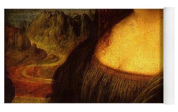 Mona Lisa  Yoga Mat by Leonardo da Vinci