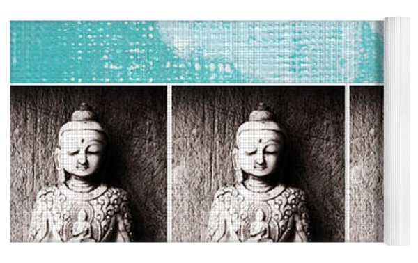 Buddha Yoga Mat by Linda Woods