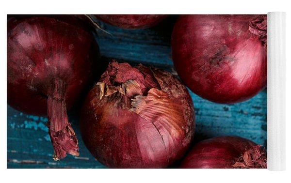 Red Onions Yoga Mat
