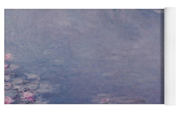 Nympheas Yoga Mat by Claude Monet