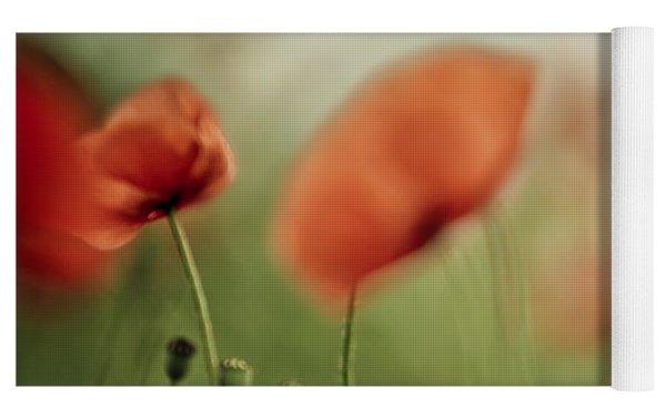 Poppy Meadow Yoga Mat