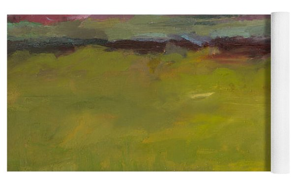 Abstract Landscape - The Highway Series Yoga Mat