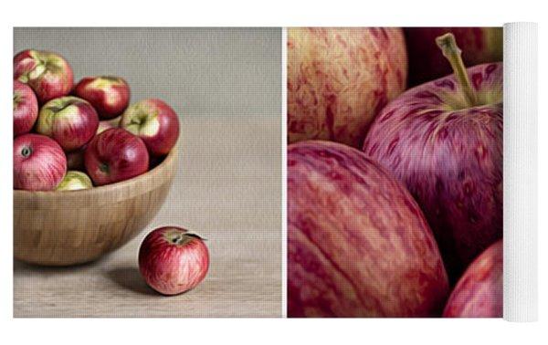 Apples 01 Yoga Mat by Nailia Schwarz