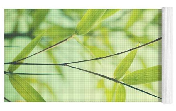 Bamboo In The Sun Yoga Mat