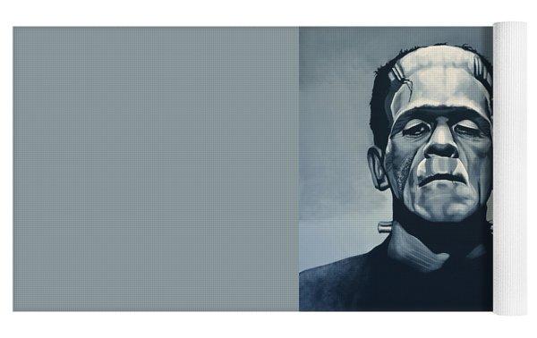 Boris Karloff As Frankenstein  Yoga Mat