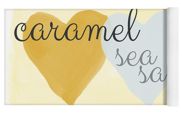 Caramel Sea Salt And Chocolate Yoga Mat
