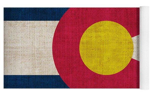 Colorado State Flag Yoga Mat