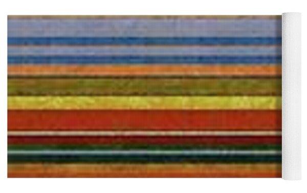 Comfortable Stripes Vll Yoga Mat