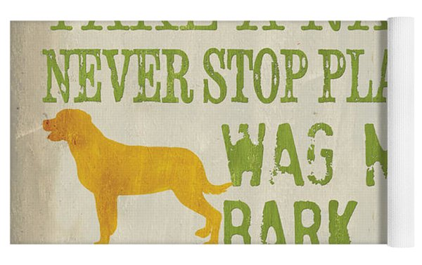 Dog Wisdom Yoga Mat