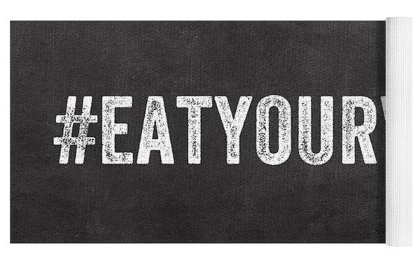 Eat Your Veggies Yoga Mat