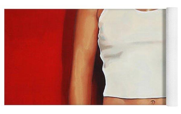 Ellen Ten Damme Painting Yoga Mat