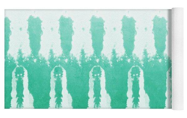 Emerald Ombre  Yoga Mat