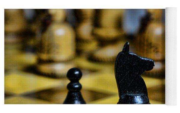 Game Of Chess Yoga Mat