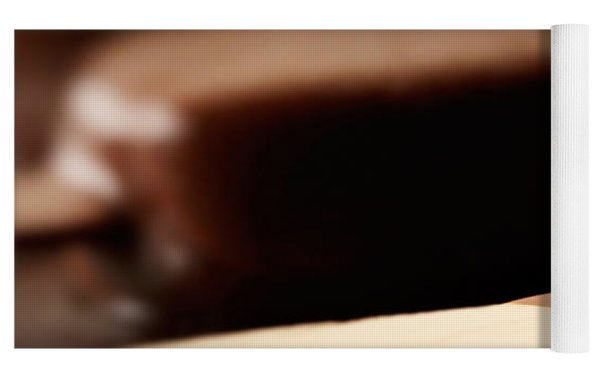 Ice Cream Chocolate Bar Yoga Mat by Johan Swanepoel