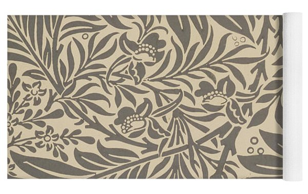 Larkspur Wallpaper Design Yoga Mat