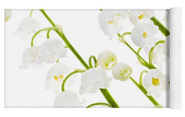 Lily-of-the-valley Flowers Yoga Mat