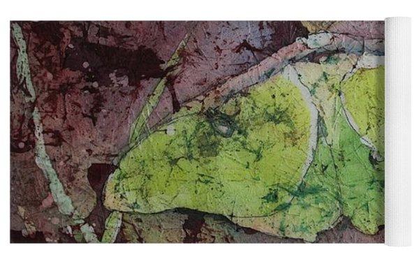 Luna Moth Yoga Mat by Ruth Kamenev