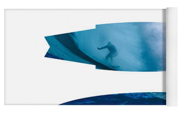 My Surfspots Poster-1-jaws-maui Yoga Mat by Chungkong Art