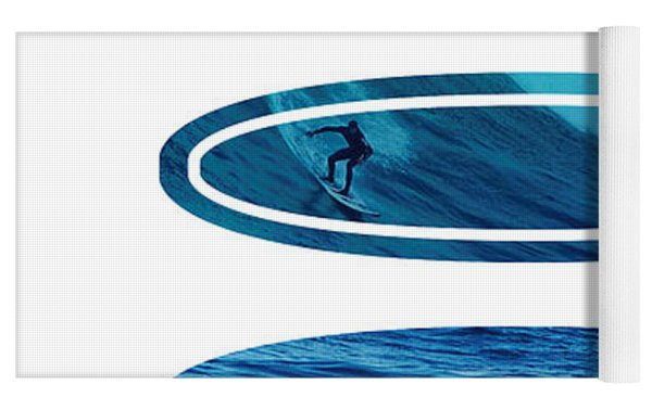 My Surfspots Poster-2-mavericks-california Yoga Mat by Chungkong Art