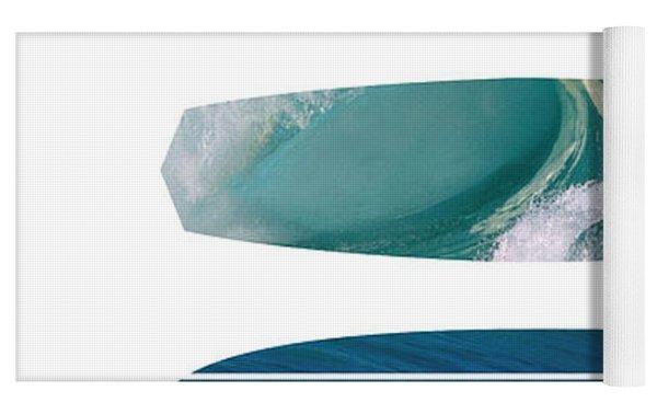 My Surfspots Poster-5-devils-point-tasmania Yoga Mat by Chungkong Art