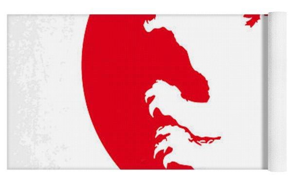 No029-2 My Godzilla 1954 Minimal Movie Poster.jpg Yoga Mat