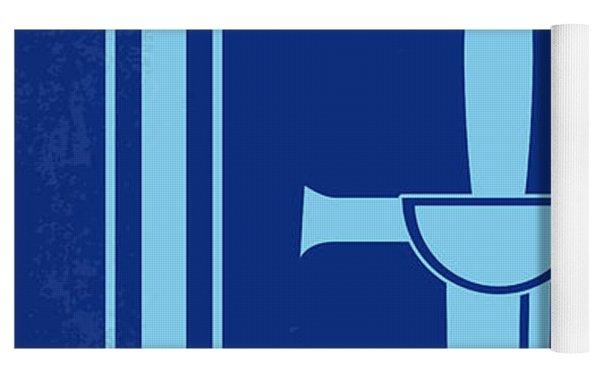 No034 My Highlander Minimal Movie Poster.jpg Yoga Mat by Chungkong Art