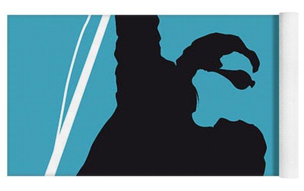No035 My U2 Minimal Music Poster Yoga Mat by Chungkong Art
