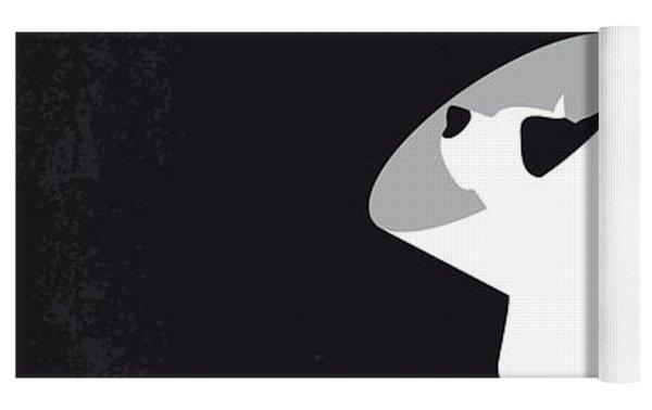 No079 My Snatch Minimal Movie Poster Yoga Mat by Chungkong Art