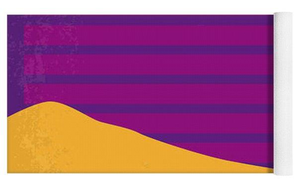 No135 My The Graduate Minimal Movie Poster Yoga Mat by Chungkong Art