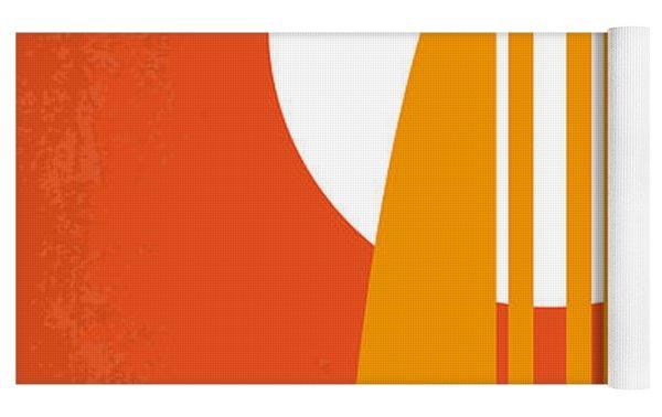 No274 My The Endless Summer Minimal Movie Poster Yoga Mat by Chungkong Art