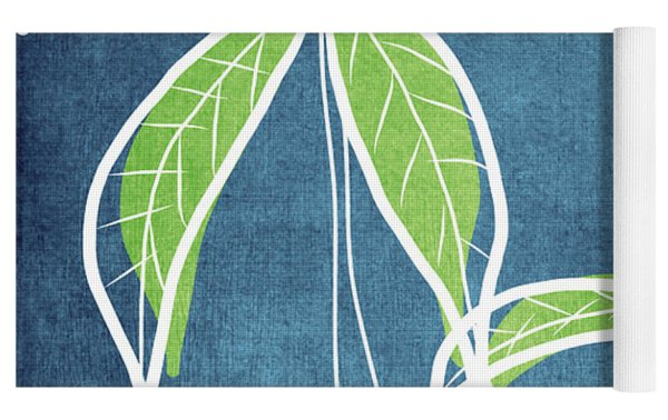 Paradise Palm Trees Yoga Mat by Linda Woods
