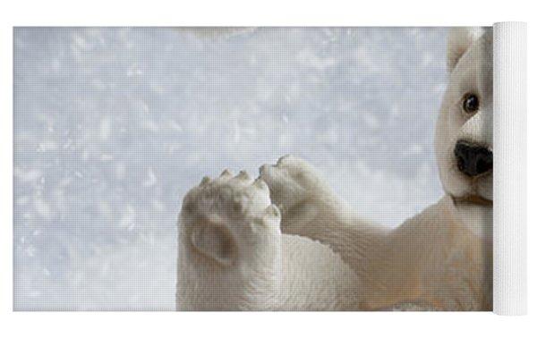 Polar Bear Decoration Yoga Mat