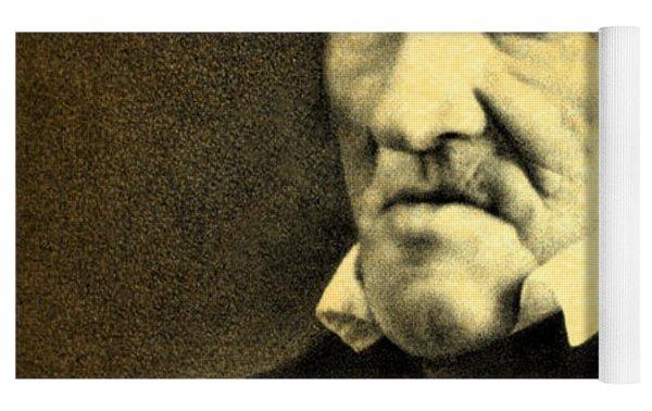 President Andrew Jackson Portrait And Signature Yoga Mat