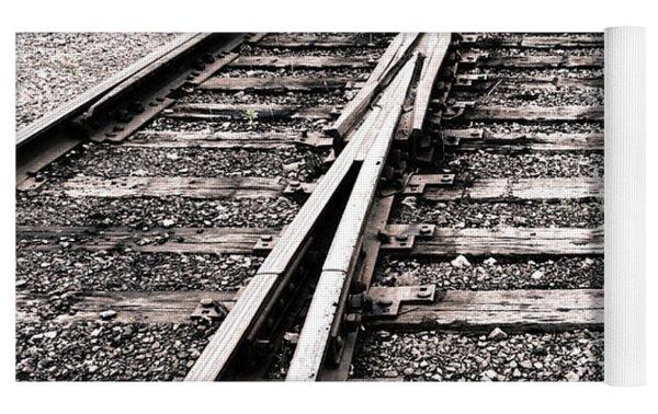 Railroad Switch Yoga Mat