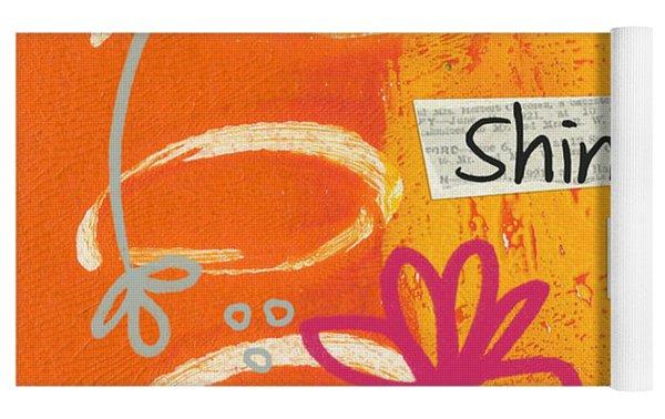 Shine Bright Yoga Mat