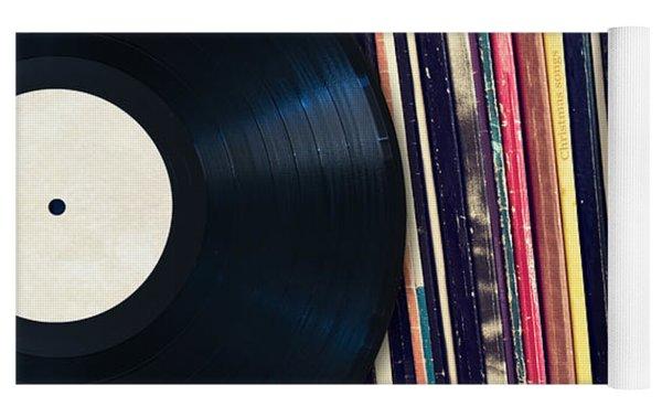 Sound Of Vinyl Yoga Mat