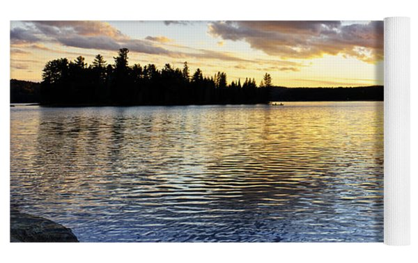 Sunset In Algonquin Park Yoga Mat