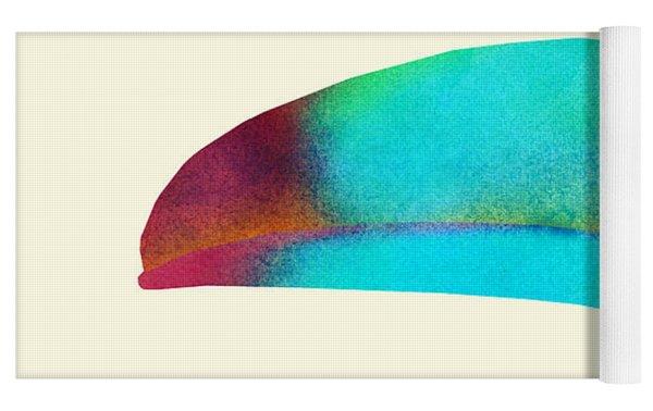 Toucan Yoga Mat by Eric Fan