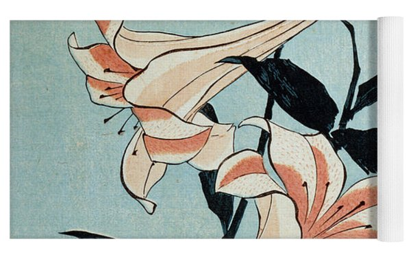 Trumpet Lilies Yoga Mat