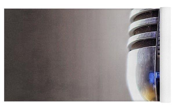 Vintage Microphone 2 Yoga Mat