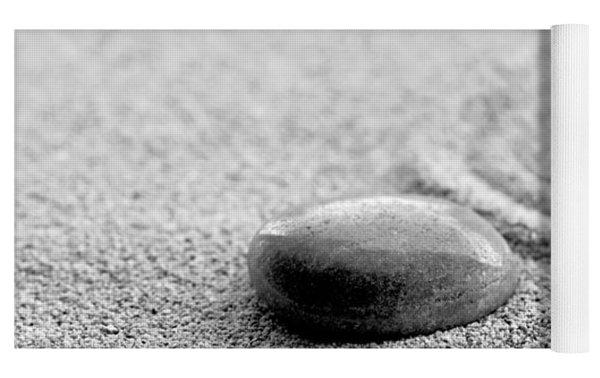 Zen Stone Yoga Mat by Delphimages Photo Creations
