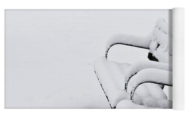 Winter Park Yoga Mat by Elena Elisseeva