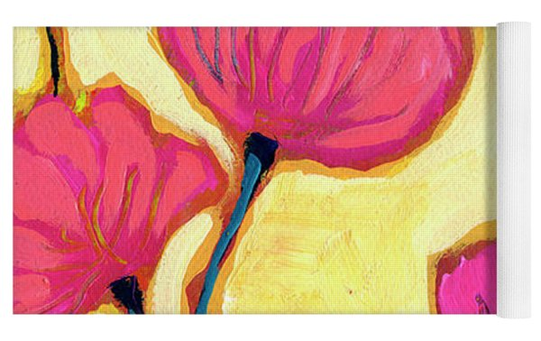 Flowers For Coralyn Yoga Mat by Jennifer Lommers