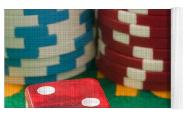 Gambling Dice Yoga Mat