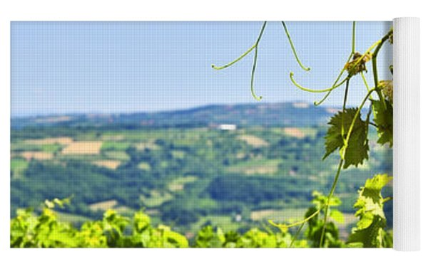 Landscape With Vineyard Yoga Mat
