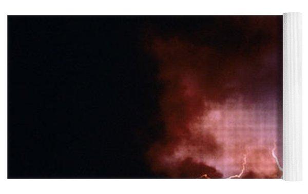 Lightning Starts A Fire Yoga Mat