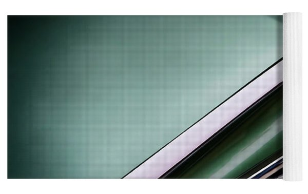 Metalic Green Impala Wing Vingage 1960 Yoga Mat