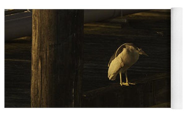 On The Dock Yoga Mat by Frank Pietlock