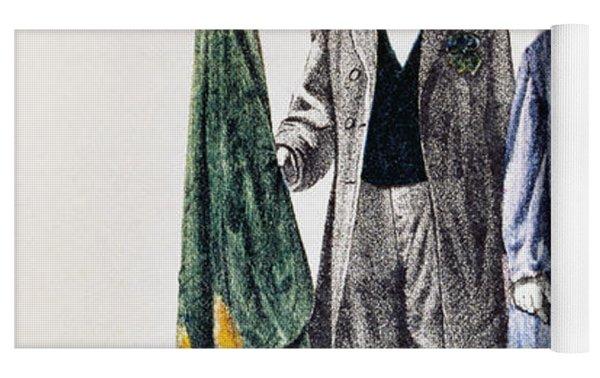 Patricks Day: Music, 1873 Yoga Mat by Granger