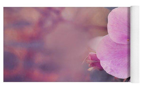 Prickly Rose Yoga Mat by Priska Wettstein